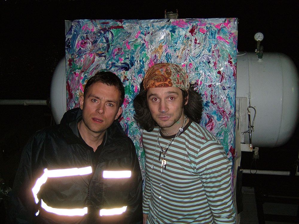 Damon Albarn, Brian Eno photo 2