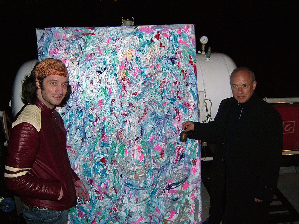 Damon Albarn, Brian Eno photo 3