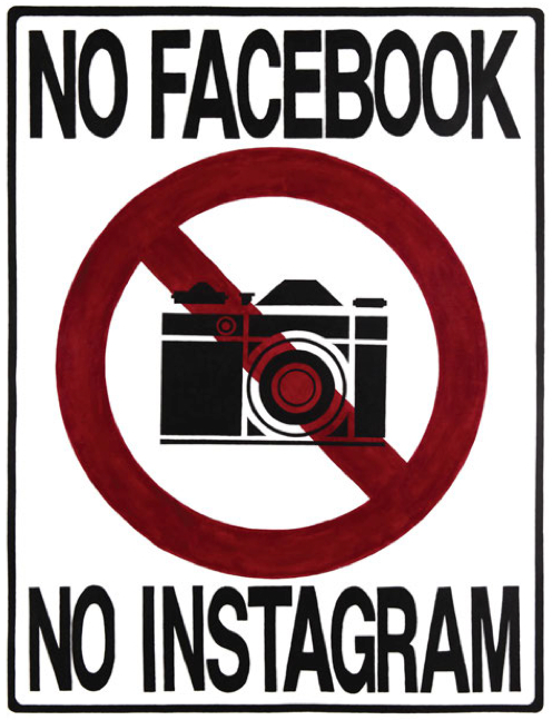 No Facebook No Instagram artwork
