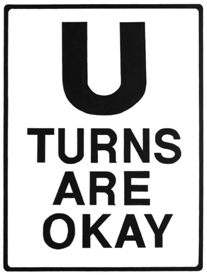 U Turns are okay artwork