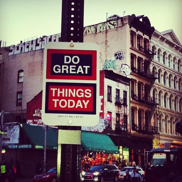Do Great Things Today artwork