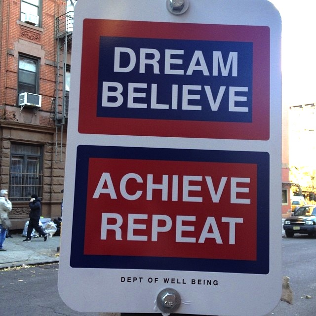 Dream Believe Achieve Repeat photo 2