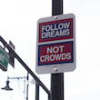 Follow Dreams Not Crowds thumb 3