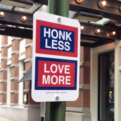 Honk Less Love More artwork